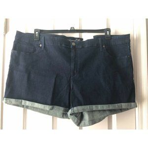 NWT Universal Thread Dark Jean Shorts  - 26W